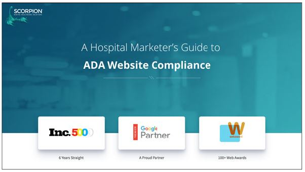 A Hospital Marketer's Guide to ADA Website Compliance