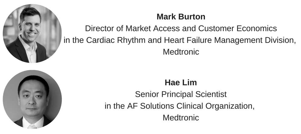 Mark Burton, Medtronic, Director of Market Access and Customer Economics in the Cardiac Rhythm and Heart Failure Management Division.png